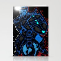 knight Stationery Cards featuring Knight by Dmarmol