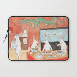 Sushi and Noodles Laptop Sleeve