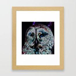 Owl_20170601_by_JAMColorsSpecial Framed Art Print