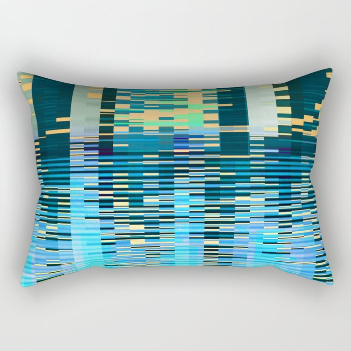 city on water Rectangular Pillow