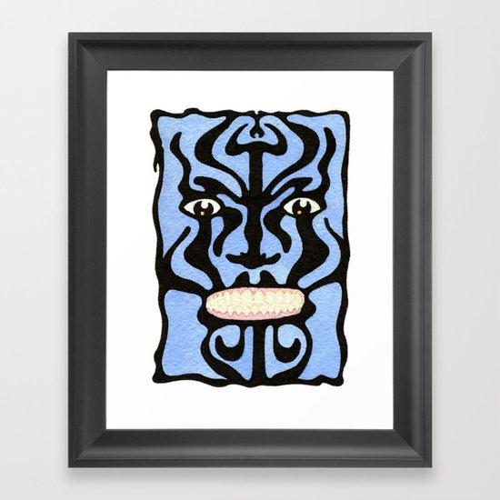 Queequeg Framed Art Print