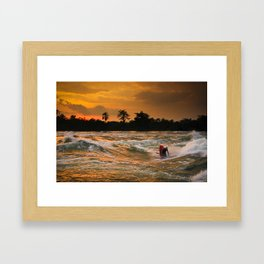 Last Ride at Nile Special Framed Art Print