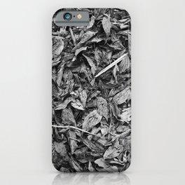 Fall Monochrome iPhone Case