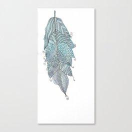 Fernanda Garner Feather Canvas Print