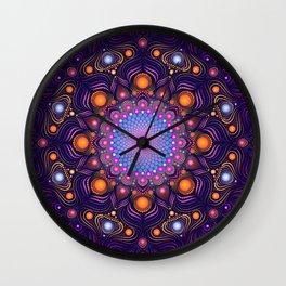 """""""Guardian"""" Mandala painting Wall Clock"""