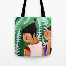 Women Scare Me Tote Bag