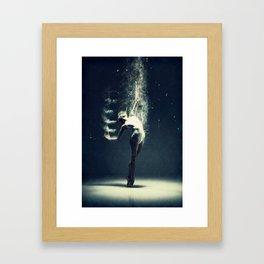 Dancer's soul... Framed Art Print