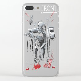 Battlefront Stormtrooper Charge Clear iPhone Case