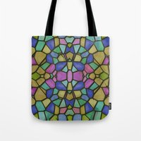glass Tote Bags featuring Glass by Fine2art