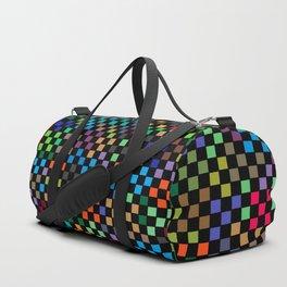 Squares Illusion Duffle Bag