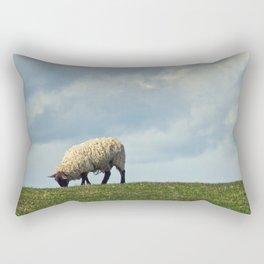 Sheep on the Hill Rectangular Pillow