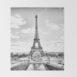 L'EIFFEL Throw Blanket