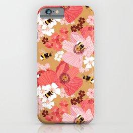 Bumblebees Pollinators iPhone Case