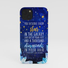 Star and Diamonds iPhone Case