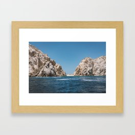 Lovers Beach II Framed Art Print