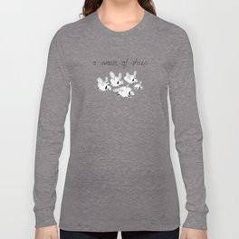 Swarm of sheep Long Sleeve T-shirt