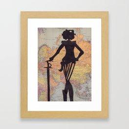 Cavalry (on Europe) Framed Art Print