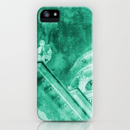 Vintage Helsinki Teal iPhone Case