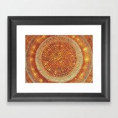Sparkly Framed Art Print