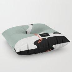 Back to work Floor Pillow