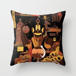 Bat Idol Throw Pillow