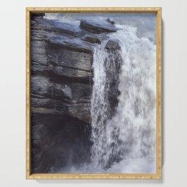 Athabasca Falls 8 Serving Tray