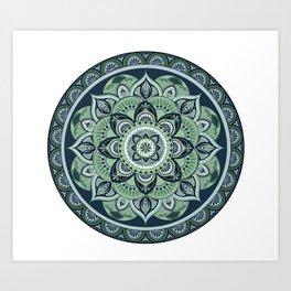 Cool Mandala Art Print