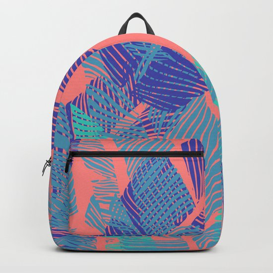 Carved Fluo Jungle #society6 #decor #buyart Backpack