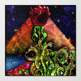 Temple of Esoteric Knowledge Canvas Print