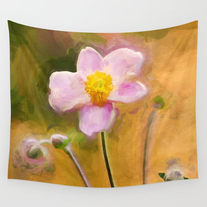 Colors of October Wall Tapestry