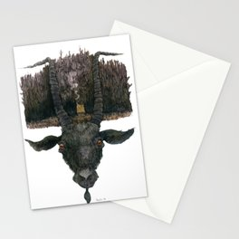 Black Phillip Live Deliciously Stationery Cards