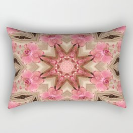 Wild Orchid print Rectangular Pillow