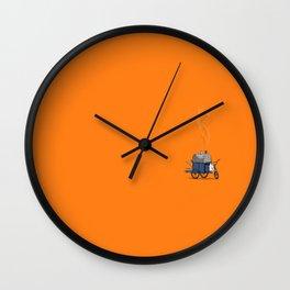 Chimenea Arepistica Wall Clock