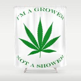 Marijuana Dispensary Legal Weed Shower Curtain