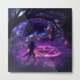 Mana: Way to the Witch Metal Print