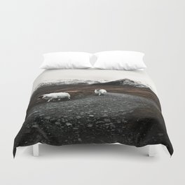 The Two Mountaineers Duvet Cover