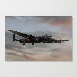 Battle of Britain Memorial Flight - Avro Lancaster Canvas Print