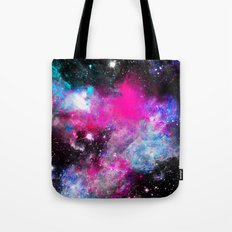 Space Paint Tote Bag