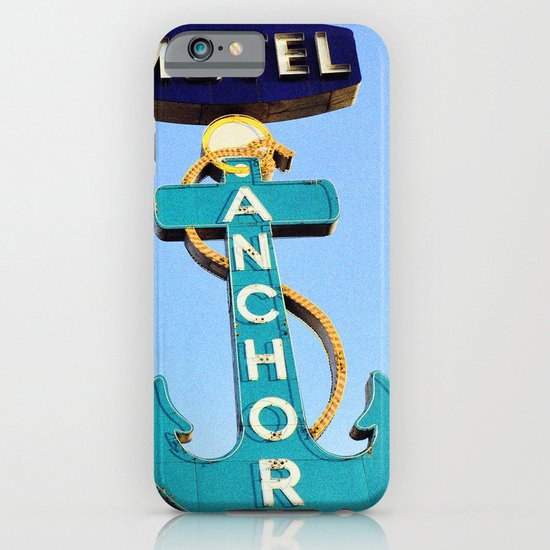 Anchor Motel iPhone & iPod Case