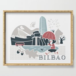 Bilbao Serving Tray
