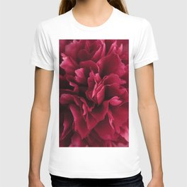 Pink Peony flower T-shirt