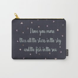 Love and the stars Carry-All Pouch