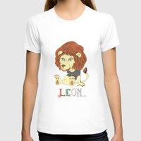 leon T-shirts featuring Leon by eva vasari