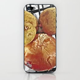 Potatoes and Onions iPhone Skin