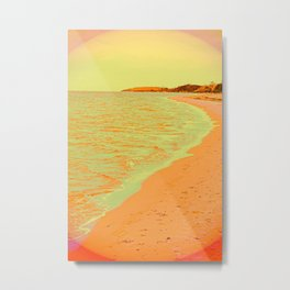 Beach Pastell Metal Print