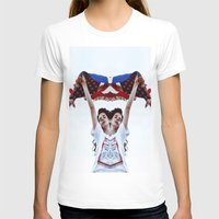 american flag T-shirts featuring AMERICAN by Paparrazzi666