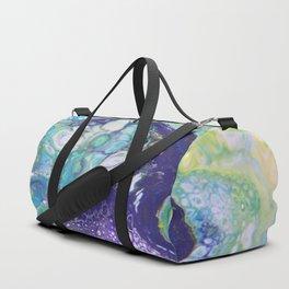 Tropical Dance - Abstract Acrylic Art by Fluid Nature Duffle Bag