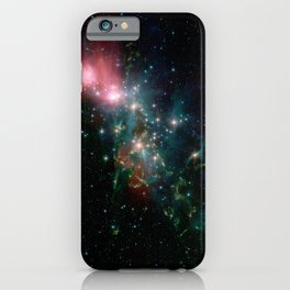 558. Chaotic Beauty iPhone Case