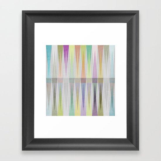 Nordic Combination V Framed Art Print