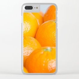 Oranges Clear iPhone Case